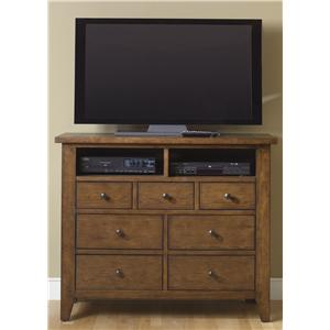 Seven-Drawer Media Chest