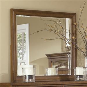 Landscape Dresser Mirror with Beveled Edge