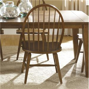 Liberty Furniture Hearthstone Windsor Back Side Chair