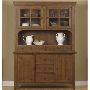 Liberty Furniture Hearthstone Hutch & Buffet