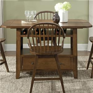 Liberty Furniture Hearthstone Center Island Table