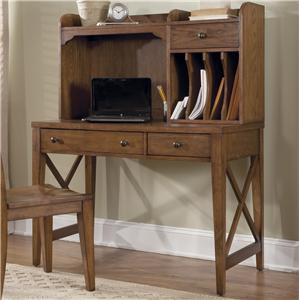 Liberty Furniture Hearthstone Desk and Hutch