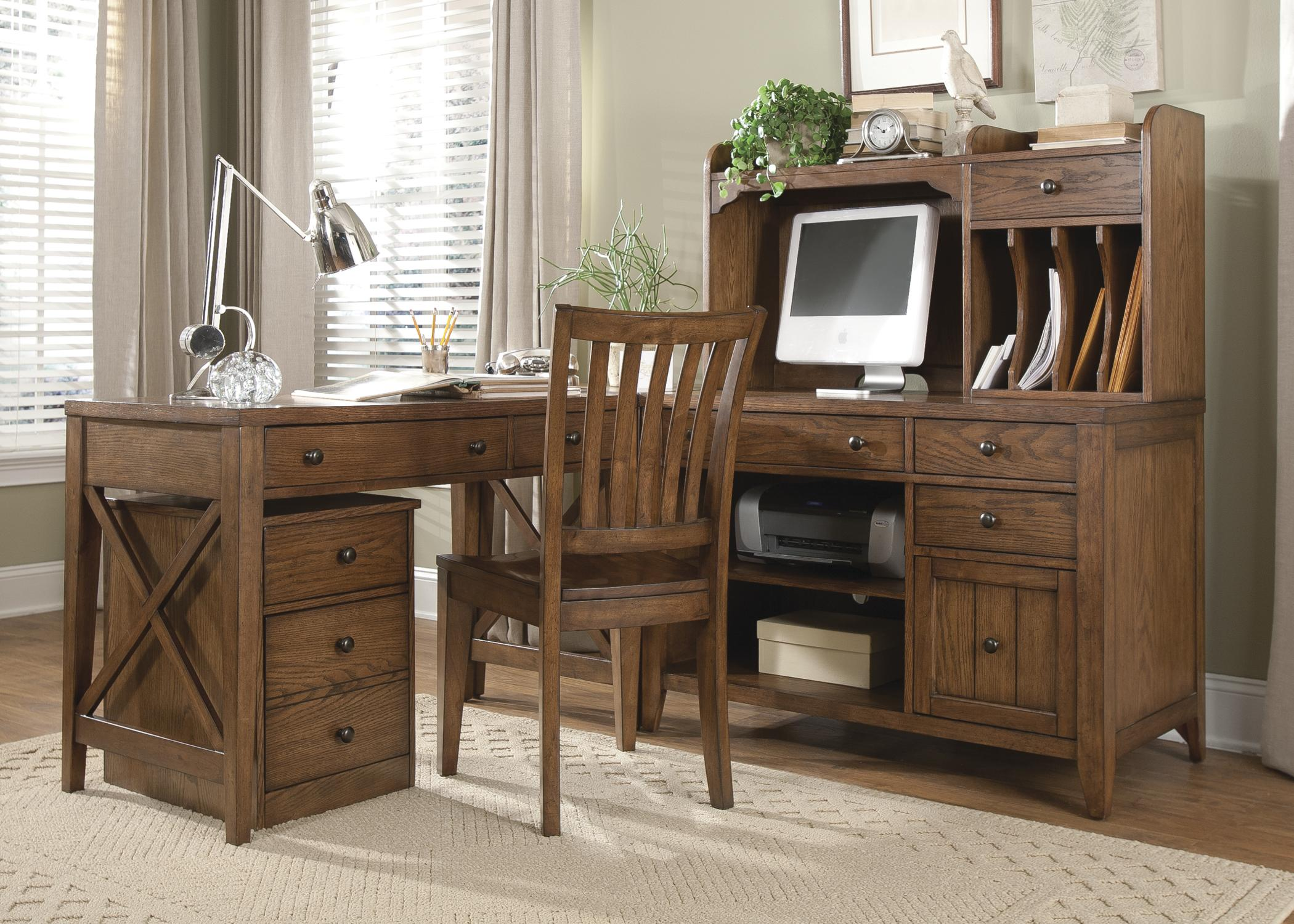 furniture desks home office credenza table. computer credenza with shelves and drawers by liberty furniture desks home office table s