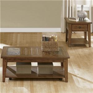 Vendor 5349 Hearthstone 3 Piece Occasional Table Set