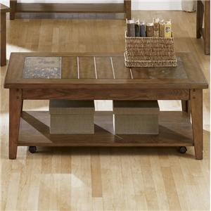 Liberty Furniture Hearthstone Cocktail Table