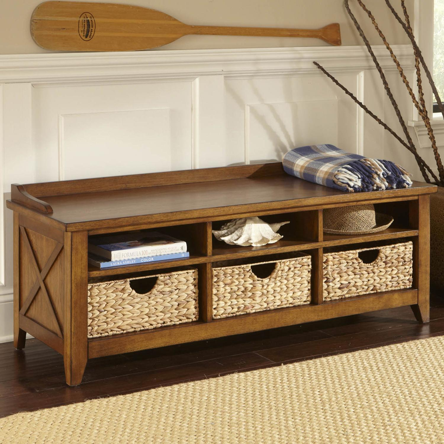 cubby storage entryway bench