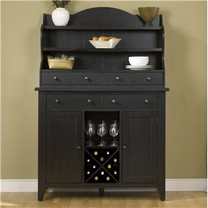 Liberty Furniture Hearthstone Server & Hutch