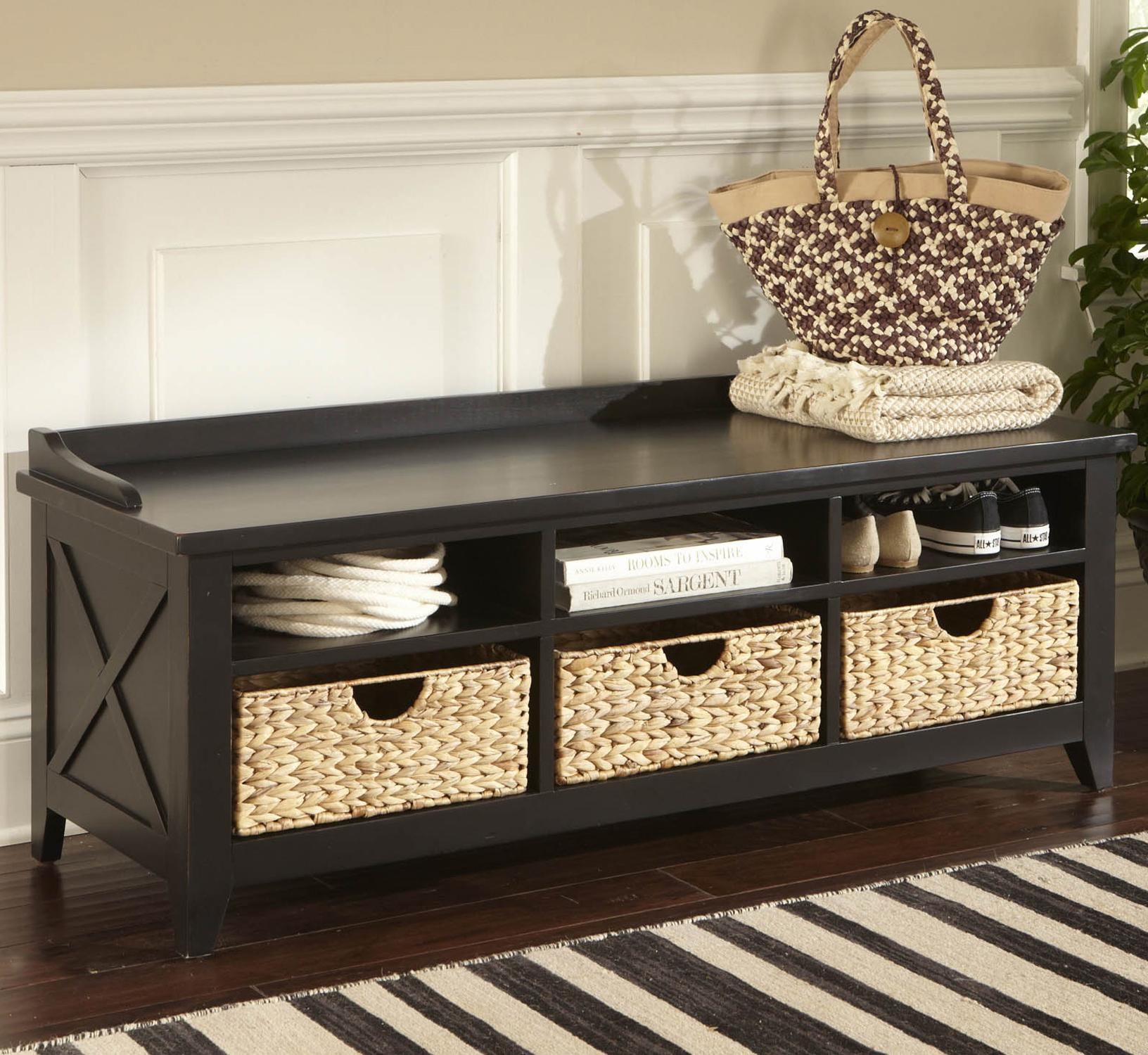 Cubby Storage Entryway Bench by Liberty Furniture | Wolf and ...