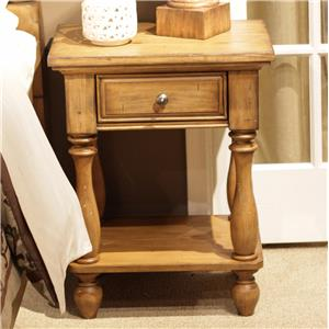 Liberty Furniture High Country Chair Side Night Stand