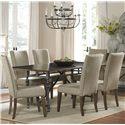 Liberty Furniture Ivy Park 7 Piece Dining Set - Item Number: 563-P4276+T4276+6xC6501S