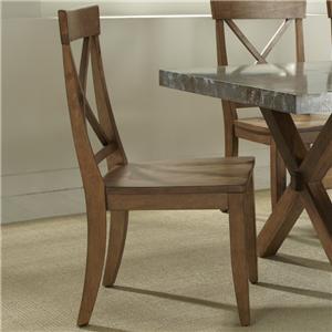 Liberty Furniture Keaton X-Back Side Chair