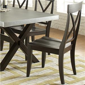 Liberty Furniture Keaton II X-Back Side Chair