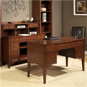 Liberty Furniture Keystone Jr. Executive 3 Piece Desk and Hutch Set