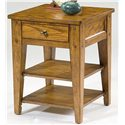 Liberty Furniture Lake House Chair Side Table - Item Number: 110-OT1021