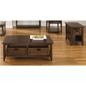 Liberty Furniture Lakewood Cocktail and End Table Set