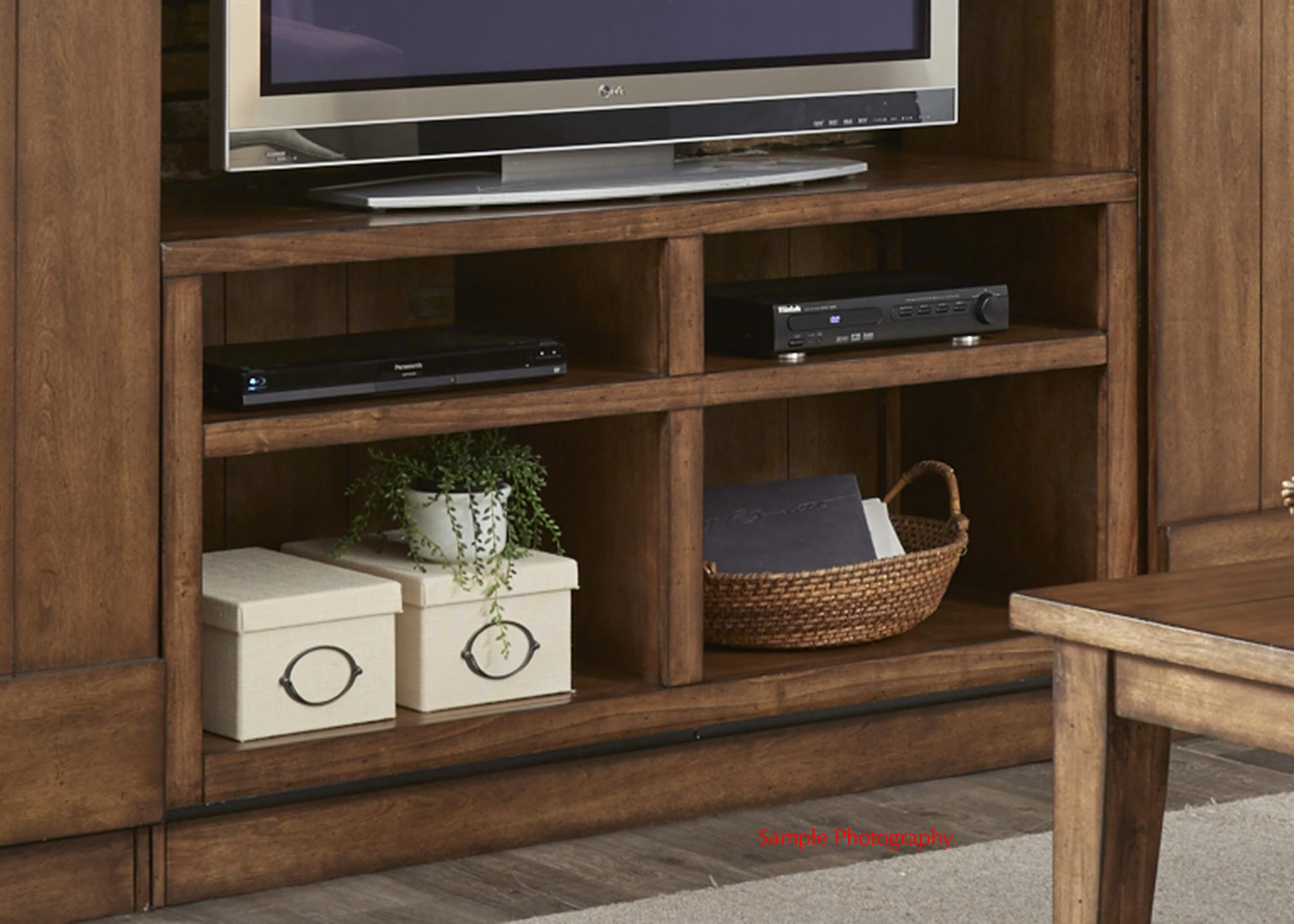 Entertainment Tv Stand With Wire Management By Liberty Furniture Wolf And Gardiner Wolf Furniture