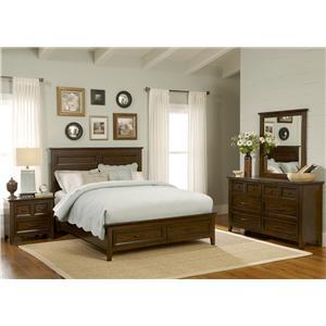 Queen Storage Bedroom Group 4