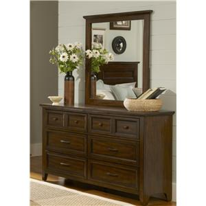 Liberty Furniture Laurel Creek Dresser & Mirror