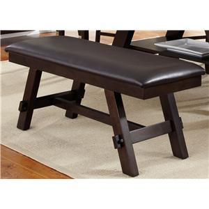 Liberty Furniture Lawson Trestle Gathering Table Colder