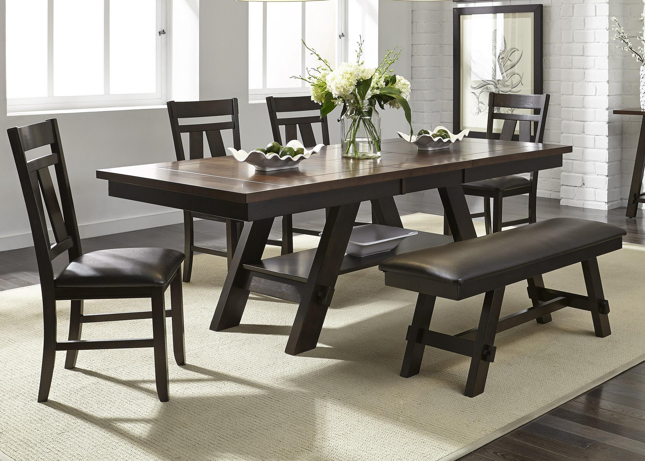 Piece Kitchen Table Set Expresso Finish