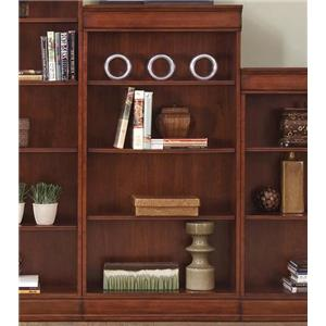 Transitional Jr Executive 60 Inch Bookcase