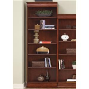 Transitional Jr Executive 84 Inch Bookcase