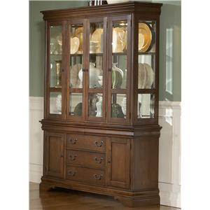 Liberty Furniture Louis Philippe China Cabinet