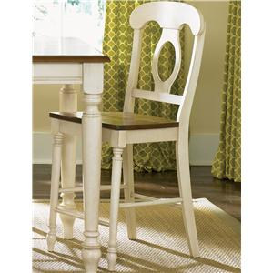 Liberty Furniture Low Country Napoleon Back Barstool