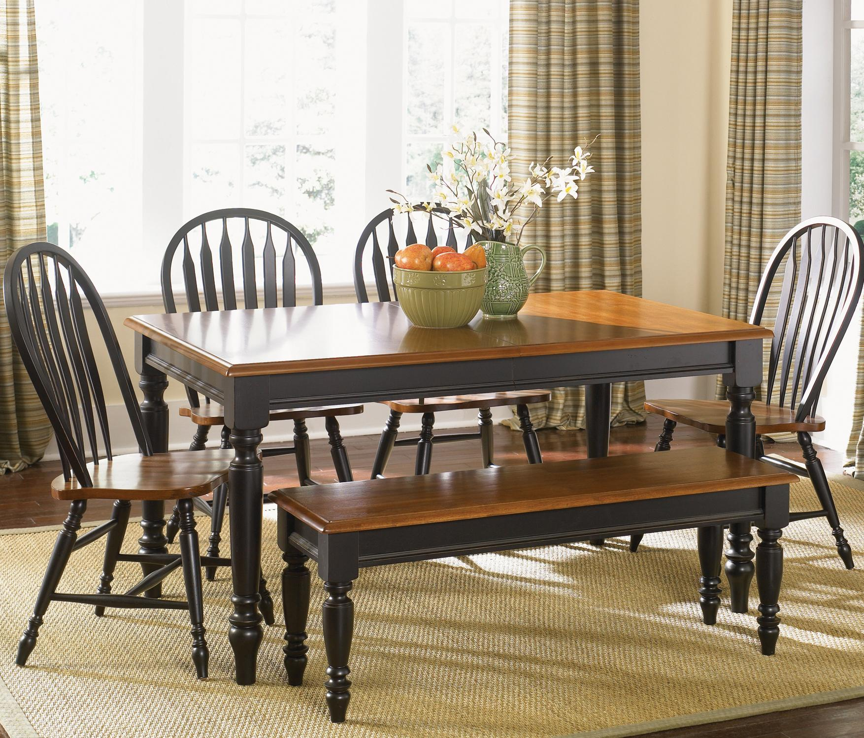 Six Piece Dining Set with Turned Legs by Liberty Furniture