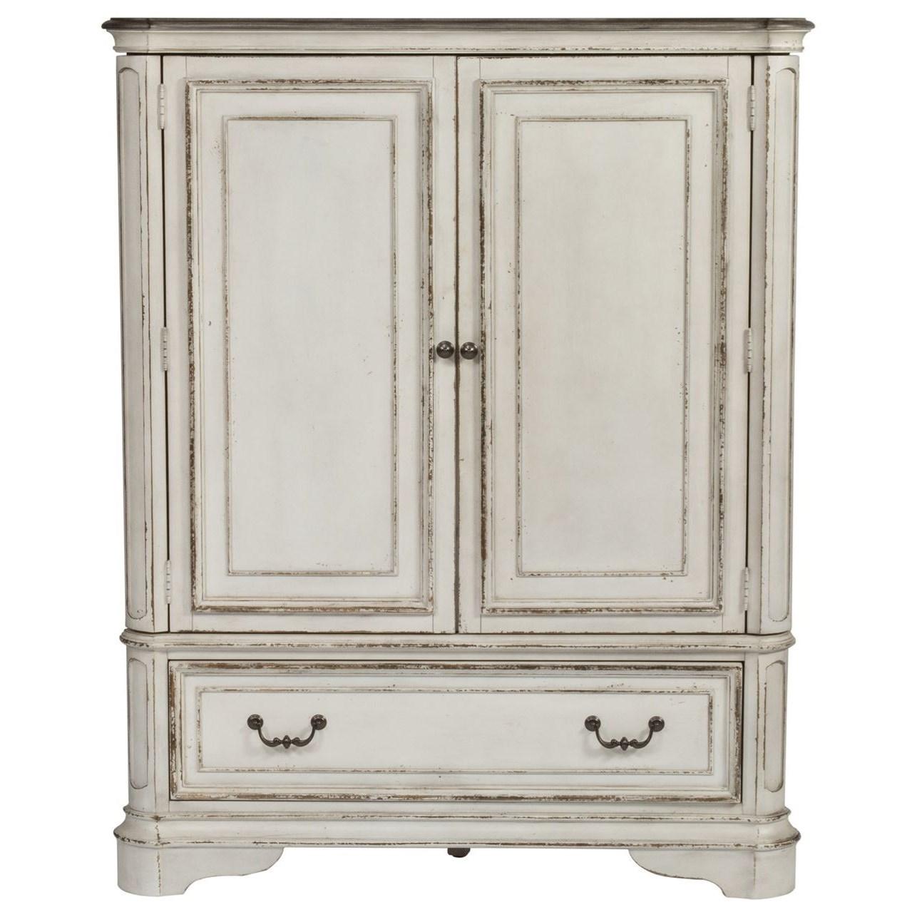 Door Chest with Adjustable Shelves