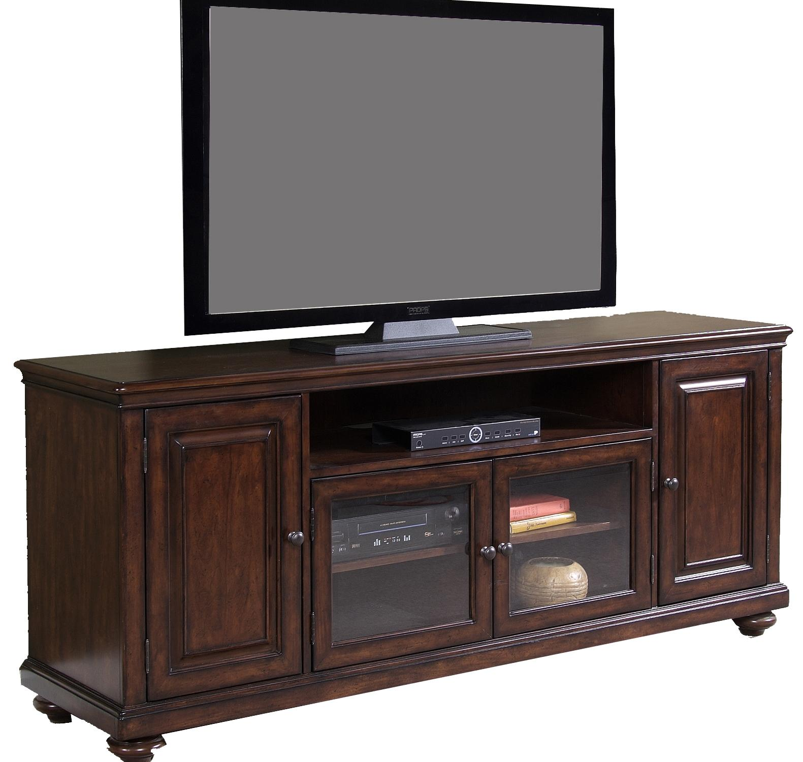 Four Door Entertainment Tv Stand By Liberty Furniture Wolf And Gardiner Wolf Furniture