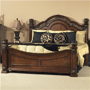 Liberty Furniture Messina Estates King Poster Bed