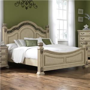 Liberty Furniture Messina Estates II King Poster Bed