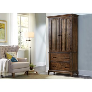 Armoire with Two Doors and Two Drawers