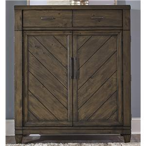 Liberty Furniture Modern Country 2 Door 2 Drawer Chest
