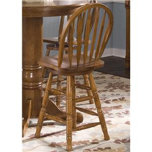 Liberty Furniture Nostalgia  24 Inch Barstool