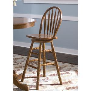 Liberty Furniture Nostalgia  30 Inch Barstool