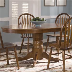 Liberty Furniture Nostalgia  Pedestal Table