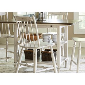Center Island Table with Storage