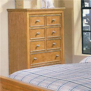Liberty Furniture Oak Ridge 5 Drawer Chest