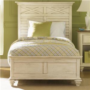Vendor 5349 Ocean Isle  Twin Panel Bed