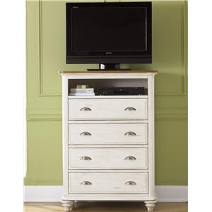Youth 4 Drawer Media Chest