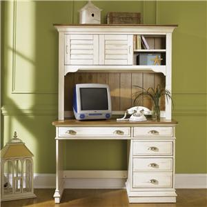 Liberty Furniture Ocean Isle  Student Desk & Hutch