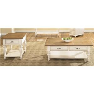 Liberty Furniture Ocean Isle  3 Piece Occasional Table Set