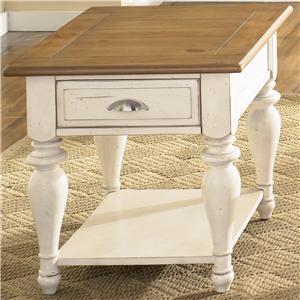 Liberty Furniture Ocean Isle  Rectangular End Table