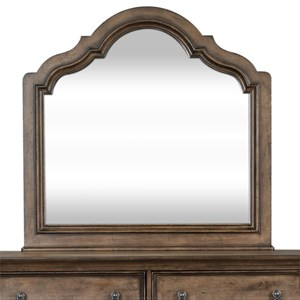 Relaxed Vintage Scalloped Mirror