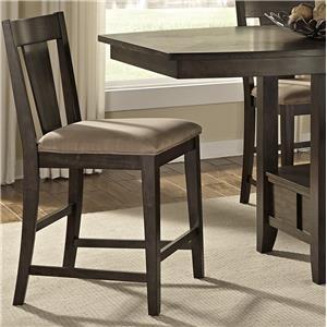 Vendor 5349 Patterson Splat Back Counter Chair