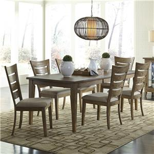 Vendor 5349 Pebble Creek 7 Piece Dining Set