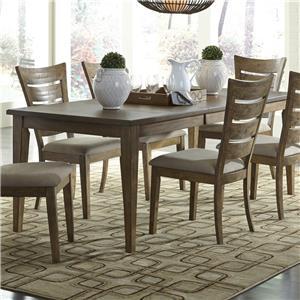 Liberty Furniture Pebble Creek Rectangular Leg Table