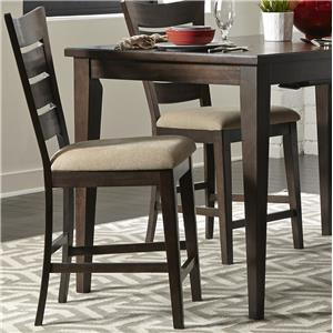 Vendor 5349 Pebble Creek Ladder Back Counter Chair